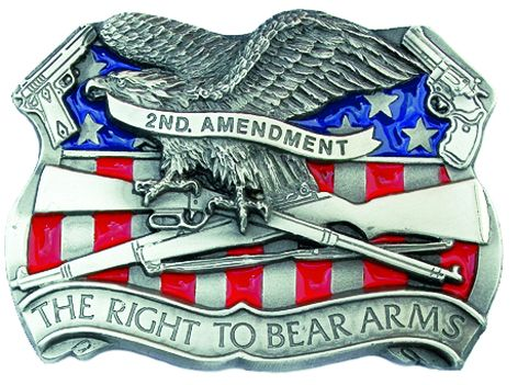Buckle The right to bear arms