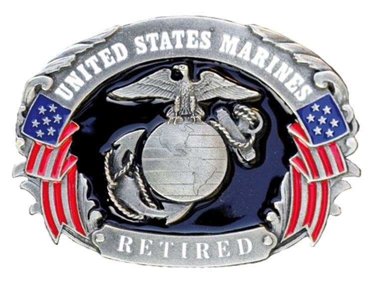 Buckle United States Marines