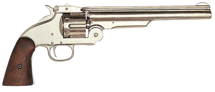 Colt Smith & Wesson Armee  silber