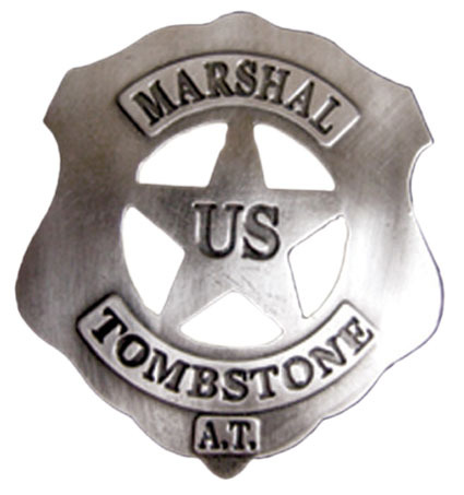 US Marshal Tombstone silber