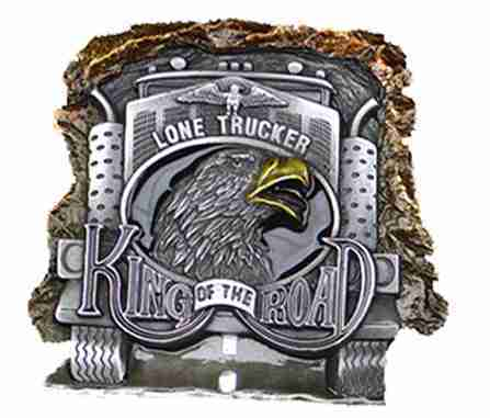 Buckle King of the Road
