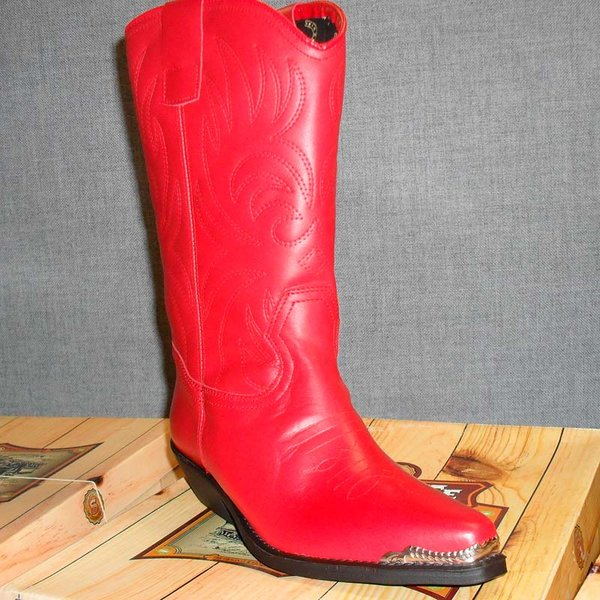 Stiefel Lola rot