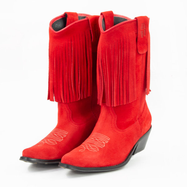 SANDY Stiefel rot