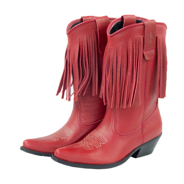 Stiefel PAM Nappa rot Frans.