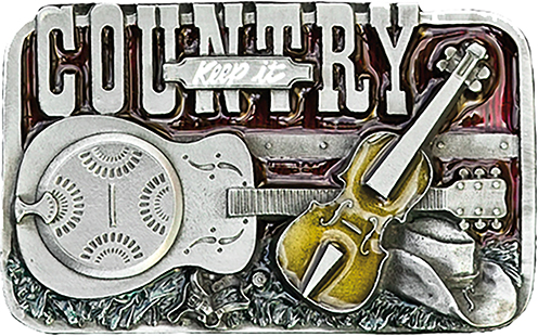Buckle Keep it Country